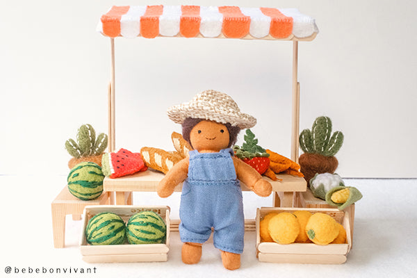 Make Your Own Mini Felt Fruit for Holdie Farmers, Small Toys and Dolls!