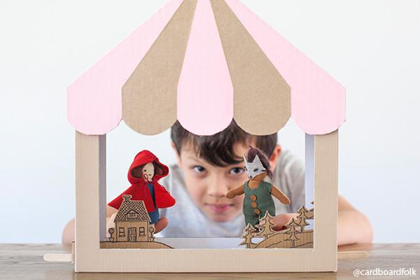 DIY | Make your own Holdie Folk Puppet Theatre