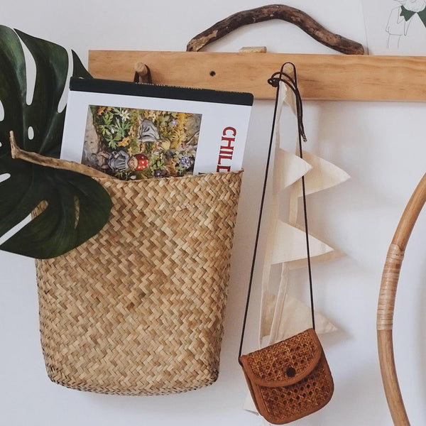 Hanging Book Basket