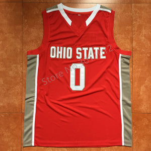 61319d4b828e  0 D Angelo Russell ohio state Basketball jersey Embroidery Stitched Custom  any Number and