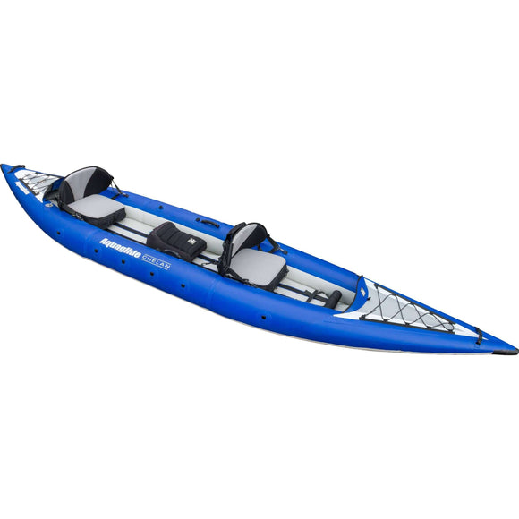 Gold Coast Kayaks,Chelan HB Tandem XL Inflatable Kayak | Aquaglide