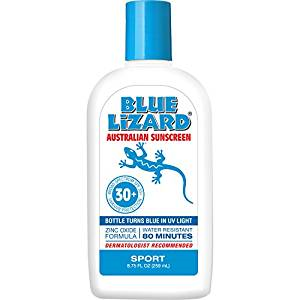 Blue Lizard Australian Sunscreen, Sensitive SPF 30+, 5-Ounce
