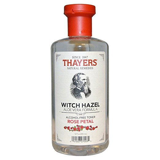 Thayer - Witch Hazel Toner-Rose Petal Alc.Fr, 12 fl oz liquid