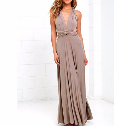 Dress Women 2018 Long Summer Convertible Bohemian Dresses Casual Bandage Evening Prom Club Party Infinity Multiway Maxi Dresses