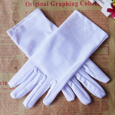 Fashion Popular 5 Colors Evening Party Formal Prom Stretch Satin Gloves for Women