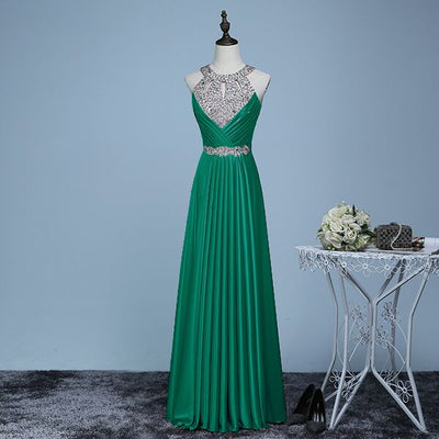 Long Purple Prom Dresses 2018 Sexy Halter Women Elegant Floor-length Formal Wedding Party Bridesmaid Prom Gown