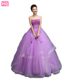 Long Tulle Party-Dress Gown Banquet