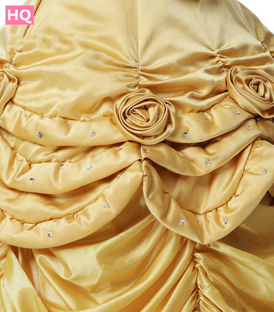 Gold Ball Gown V Neck Prom Dresses Tallas Grandes 2018 Taffeta Evening Gowns
