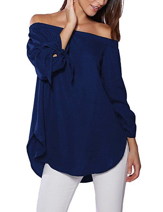 Women's Off The Shoulder Top Blouse
