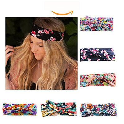 Women's Satin elastic cross headband geranium European and American hair accessories