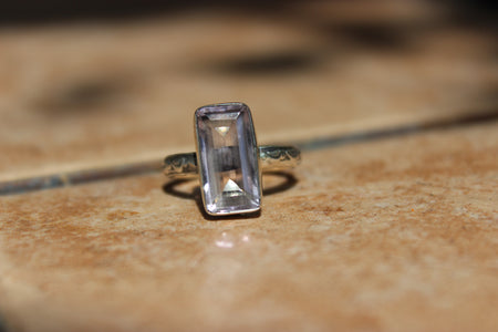 'Tower of Strength' Amethyst Ring