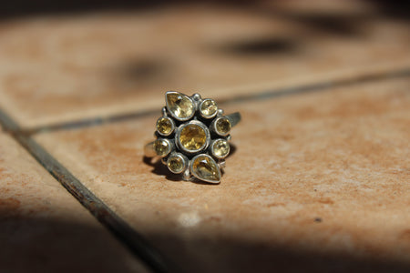 'Shine Bright' Citrine Abundance Ring