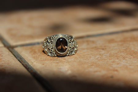 Citrine Goddess Ring