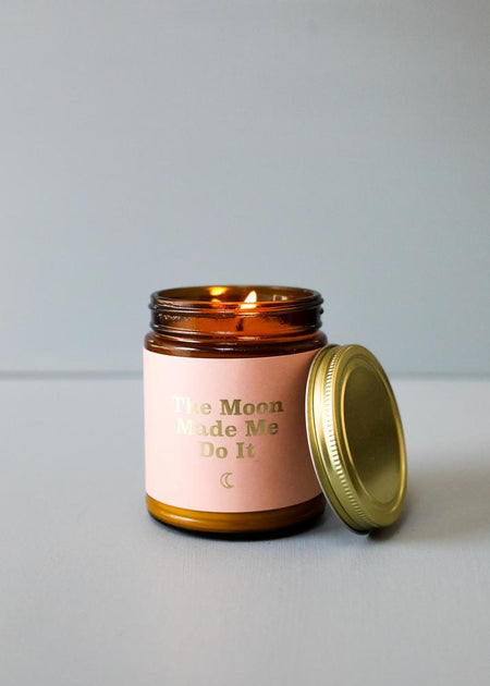 Moon Wild Candle