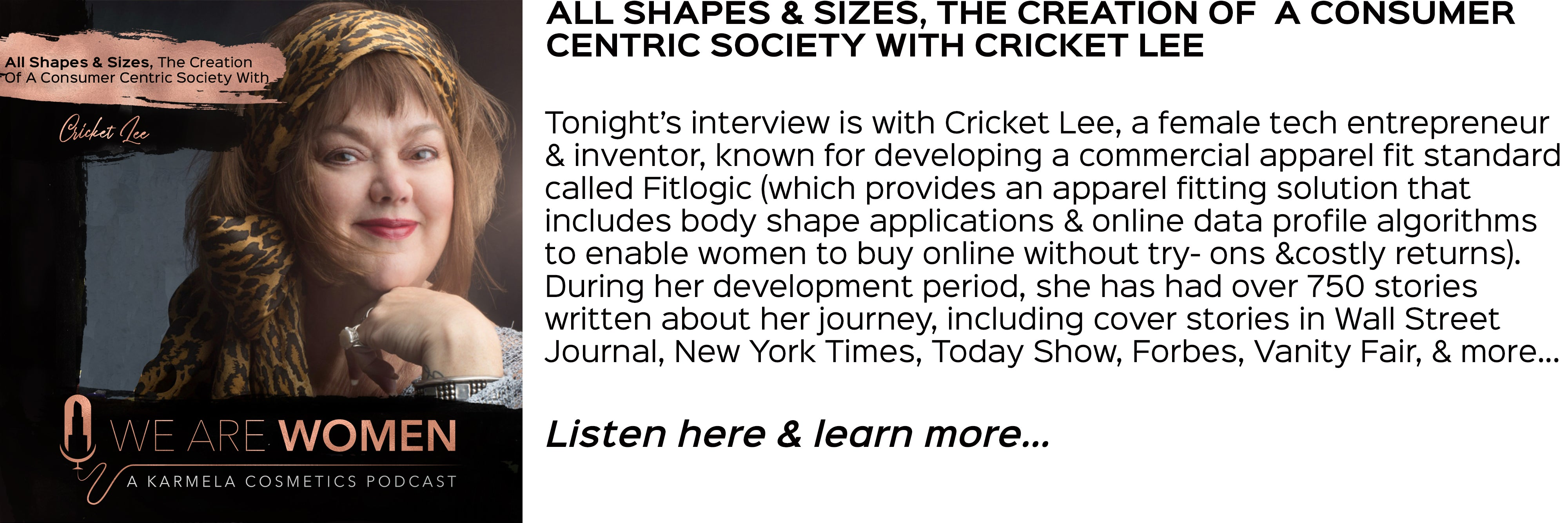 cricket lee, inclusivity in sizes, fashion trends