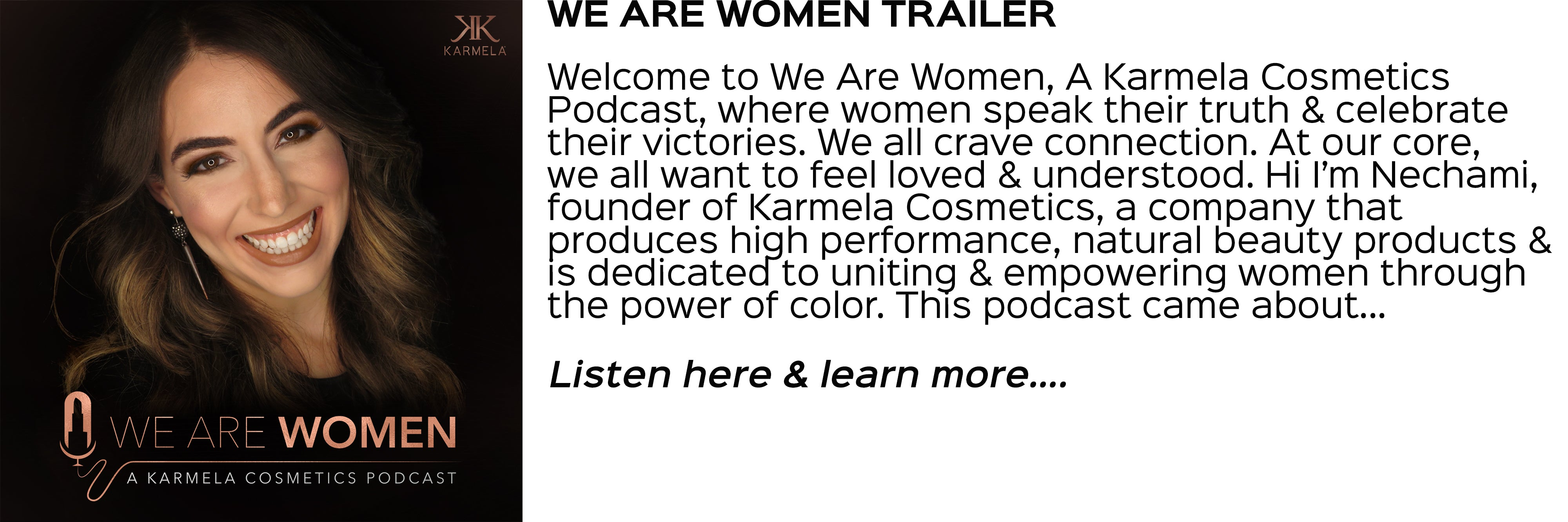 we are women trailer