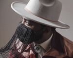 Load image into Gallery viewer, Orville Peck Face Mask