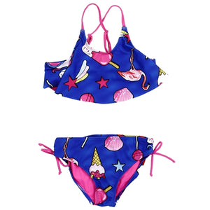 Summer Fun Royal Blue Swimsuit - loopylousboutique