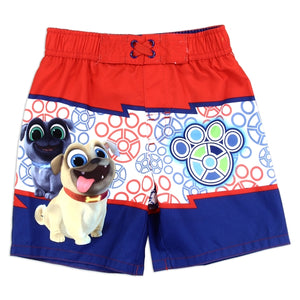 Puppy Dog Pals Boys Toddler Swimsuit