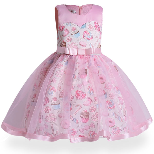Sweets Girls Party Dress - loopylousboutique