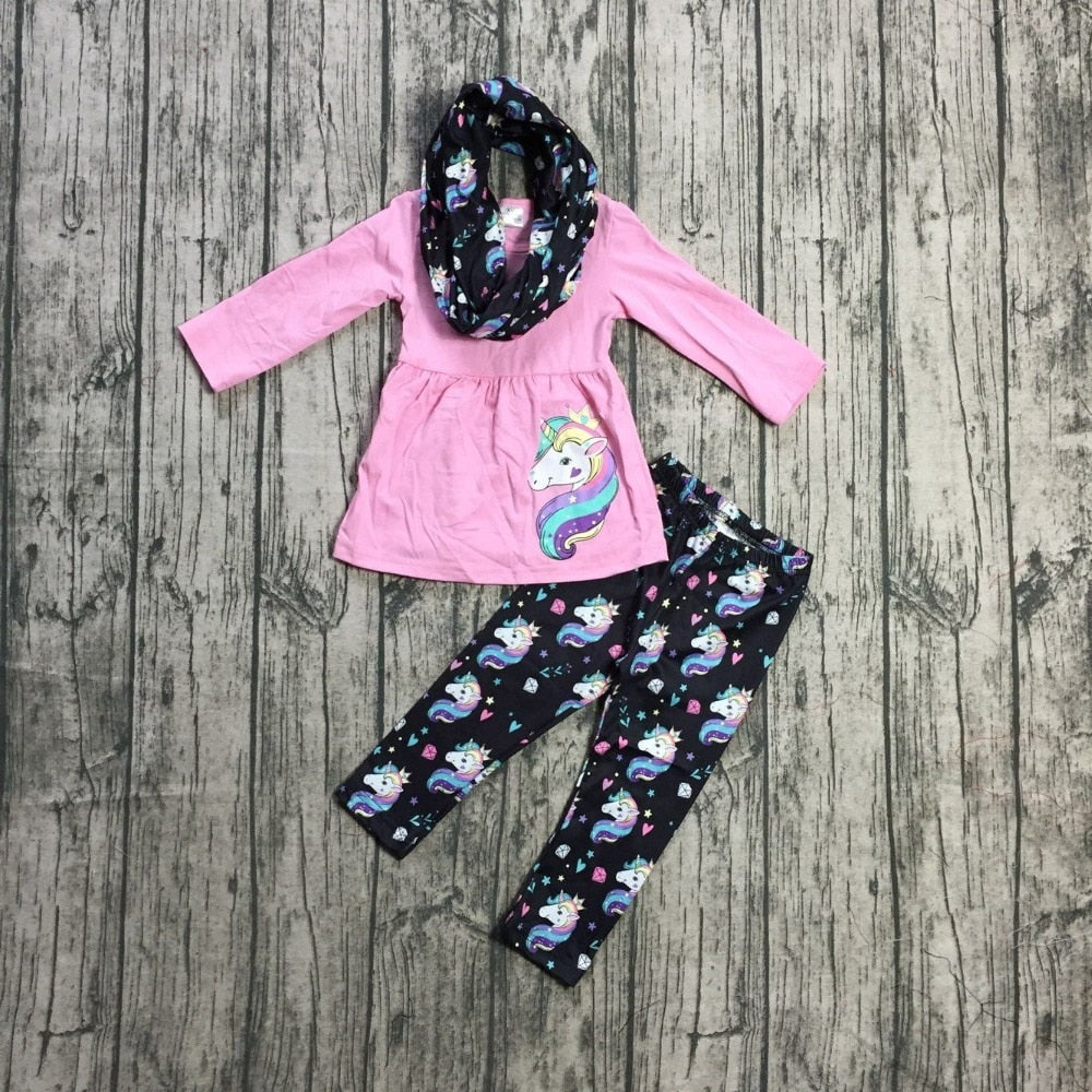 Unicorn Dreams Long Sleeve Outfit - loopylousboutique