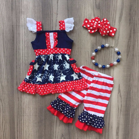 Stars & Stripes Boutique Outfit - loopylousboutique