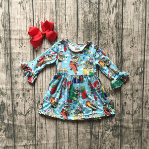 Toy Story Holiday Christmas Dress - loopylousboutique