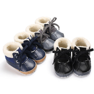 Infant Sherpa Lined Rain Boots - loopylousboutique