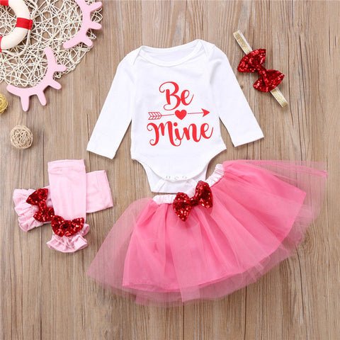Be Mine Tutu & Accessories Outfit - loopylousboutique