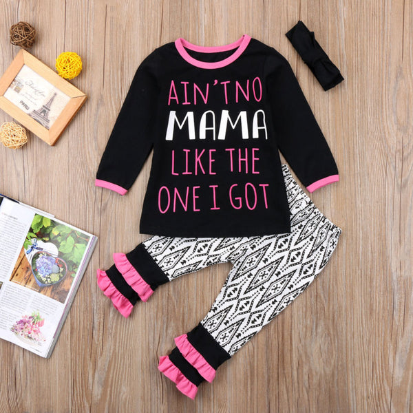 Ain't No Mama Like The One I Got Outfit - loopylousboutique