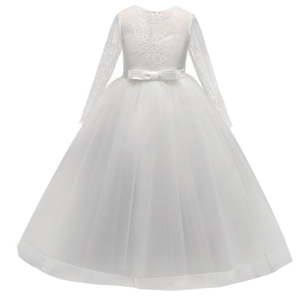 Sweetheart Lace Flower Girl Dress in 3 Colors - loopylousboutique