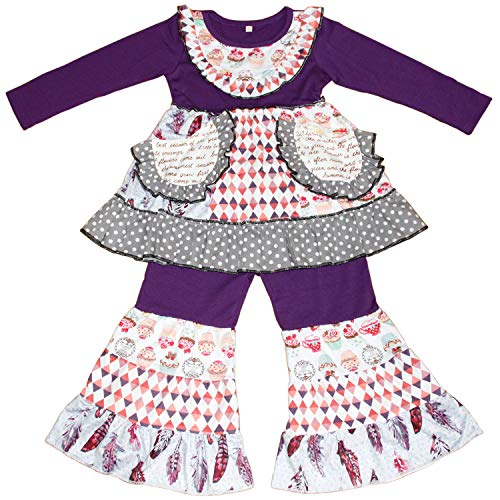 Cupcake Ruffle Pocket Boutique Outfit - loopylousboutique