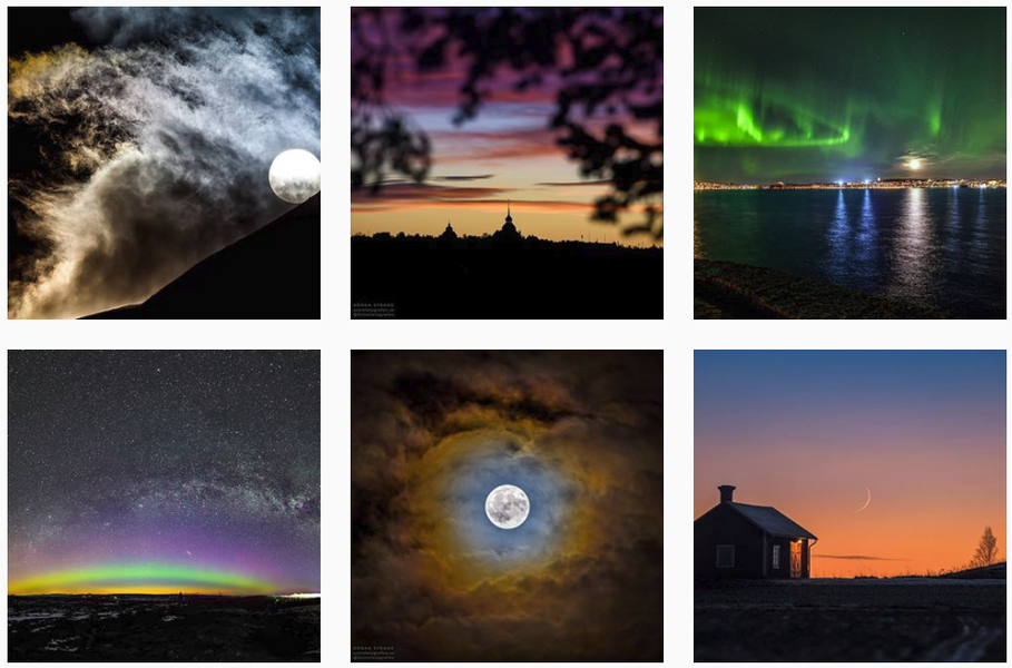 7 Instagram Accounts that will Inspire You (Universe)