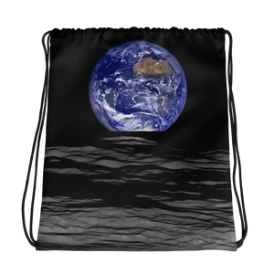 Earthrise - the Drawstring Bag