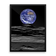 Earthrise - The Compton Crater Wall Art