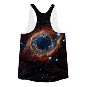 God's Eye Helix Nebula Tank Top (womens)