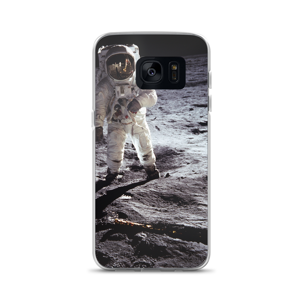 The Aldrin - Iconic Historical Moonwalk - Samsung Case