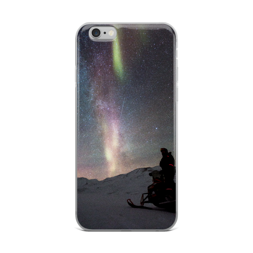 Aurora Borealis and Milky Way - iPhone Case