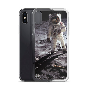 The Aldrin - Iconic Historical Moonwalk - iPhone Case