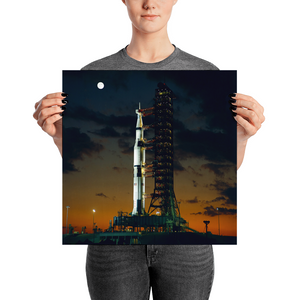 Apollo 4 Saturn V 1967 Limited Edition Print