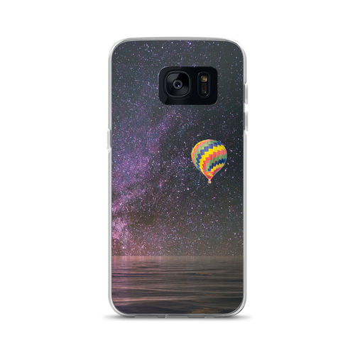 Hot Air Balloon and Milky Way - Samsung Case