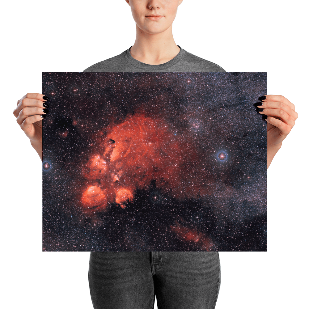 The Cat's Paw Nebulae - Limited Edition Print