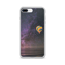 Hot Air Balloon and Milky Way - iPhone Case