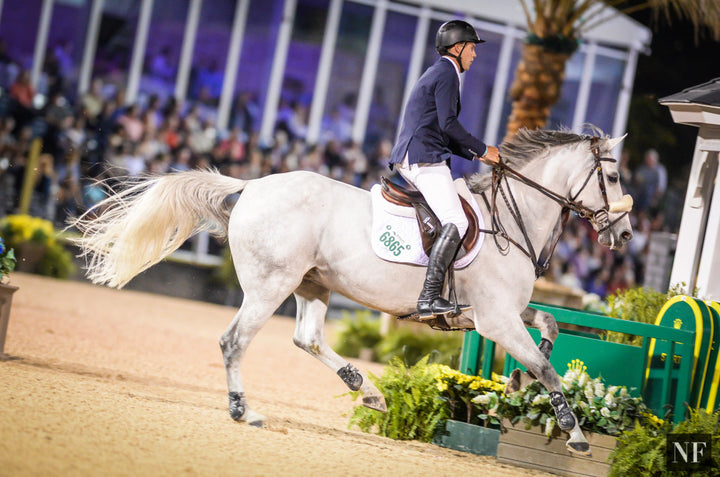 Hardin Towell & S.F. Ariantha compete in the WEF 9 Grand Prix