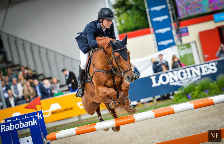 Casello and Lindelöw at CSIO Rotterdam 2015