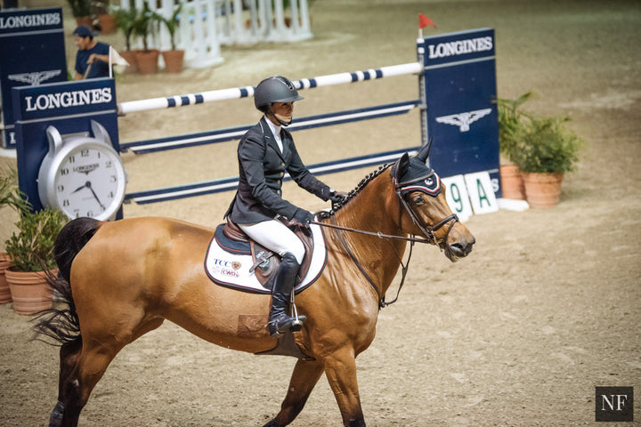 Georgina Bloomberg is back in Del Mar this year. Ph. Bret St. Clair