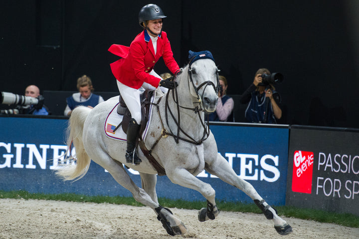 """We Have a Common Bond"": Jamie Barge, Karl Brocks & World Cup Horse, Luebbo"