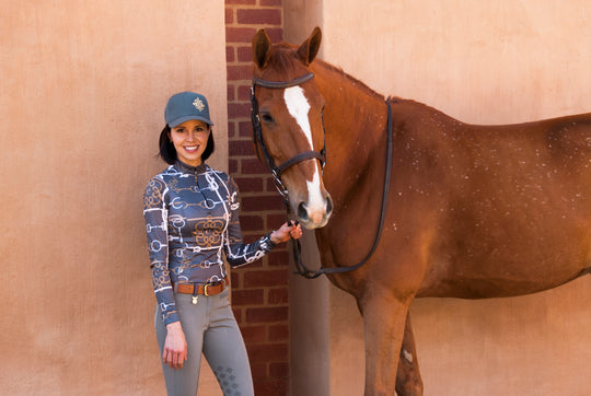 Espoir Equestrian's Founder Was Working Three Jobs to Get By. Now, She's Disrupting the Equestrian Fashion Space.