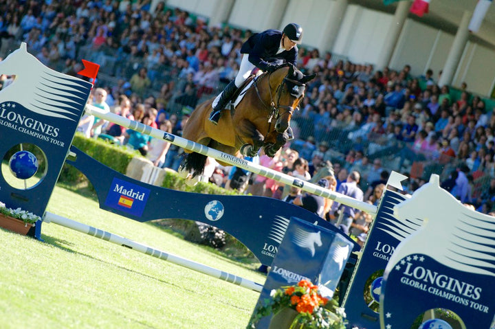 Eric Lamaze leads the GCT Season standings after the second leg in Madrid, Spain
