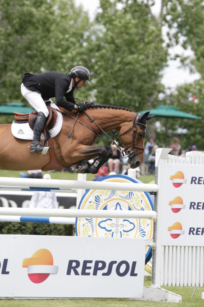Eric Lamaze & Rosana du Park. Ph. Spruce Meadows Media Services